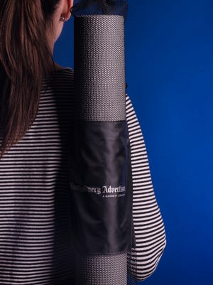 The first 25 participants at Tuesday's Get Fit 2015 will receive a free yoga mat.