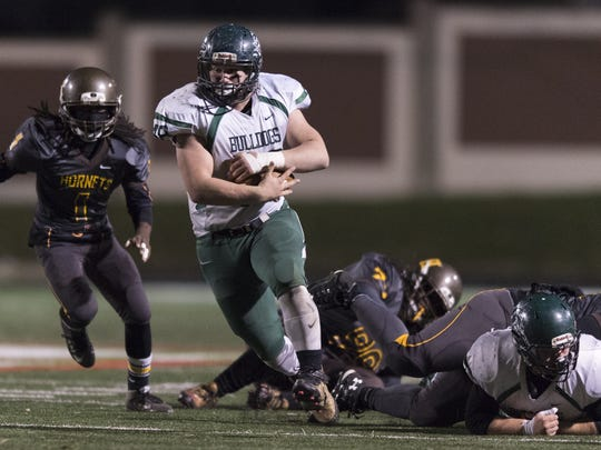 FILE – Garrison Lee helped lead Monrovia to the Class 2A state title in 2015.