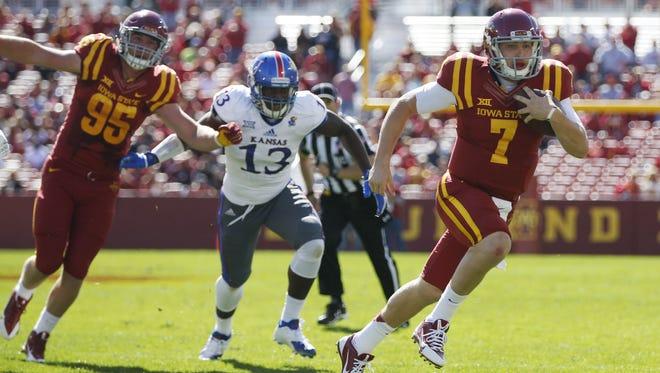 Iowa State quarterback Joel Lanning will get his third start Saturday.