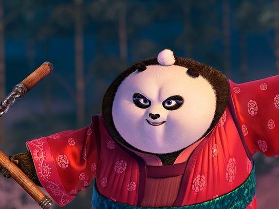 Expert ribbon dancer Mei Mei (voiced by Kate Hudson)