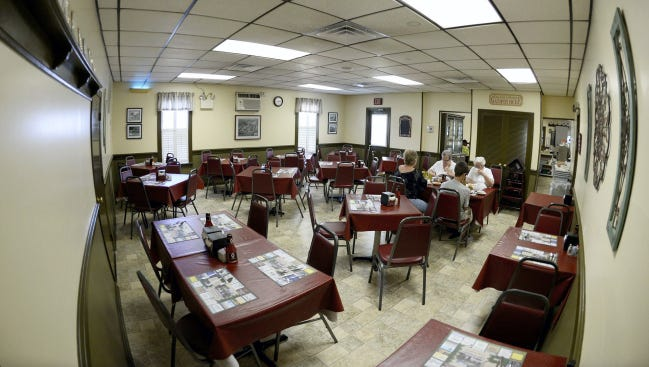 Schwalm's Restaurant at 213 E. Penn Ave. (Route 422) in Cleona was recently remodeled as pictured here on Thursday. The popular eatery opened in 1974.