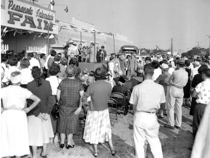 Grand opening of the Pensacola Interstate Fair.