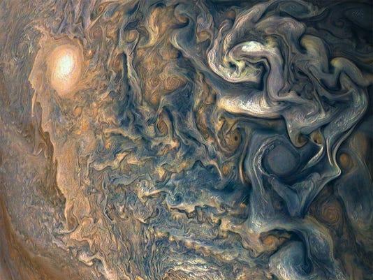 Juno spacecraft photos
