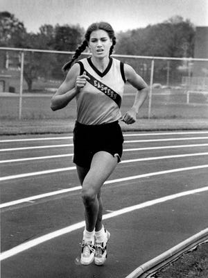 Donna McLain Vitacco won six PIAA track and field gold medals and one in cross country during her Eastern York high school career.