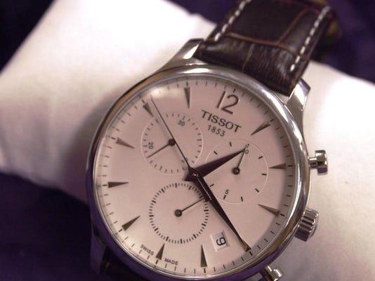 The Goldsmiths's Tissot Watch