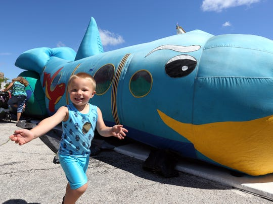 Scenes from the Second Annual Subfest in downtown Manitowoc on Saturday, July 9. Variety of activities and events were provided from 8 a.m. to 10 p.m.