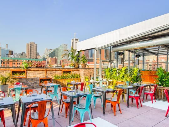 Cantina Rooftop opened above the Hudson River in Hell's