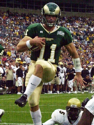 Bradlee Van Pelt was voted as the quarterback by fans for the CSU football all-time team announced on CSURams.com.