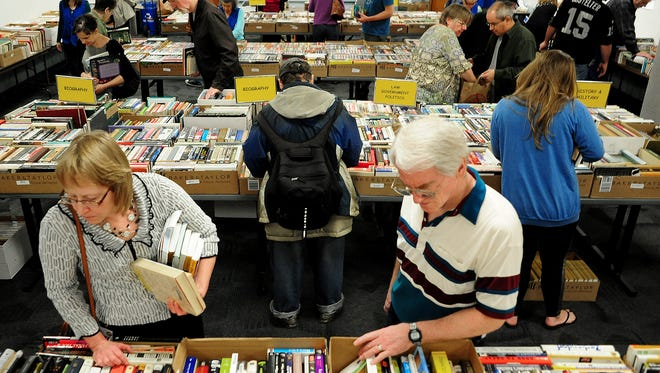 The Friends of Salem Public Library Spring Book Sale takes place Oct. 14-16.