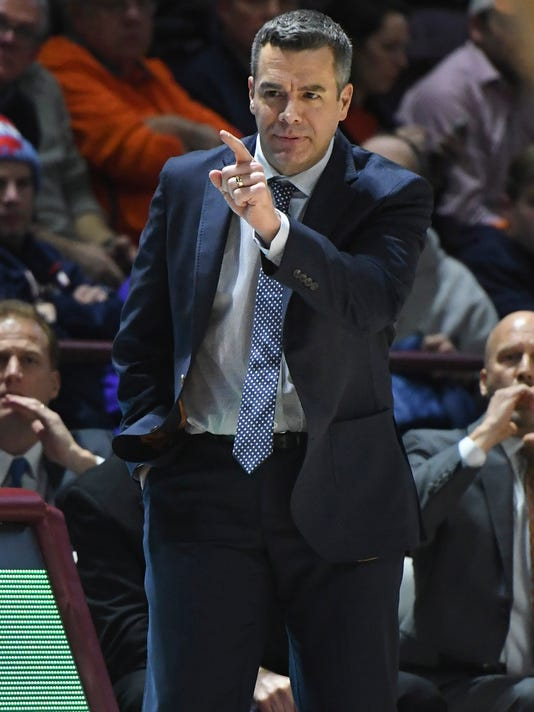 NCAA Basketball: Virginia at Virginia Tech