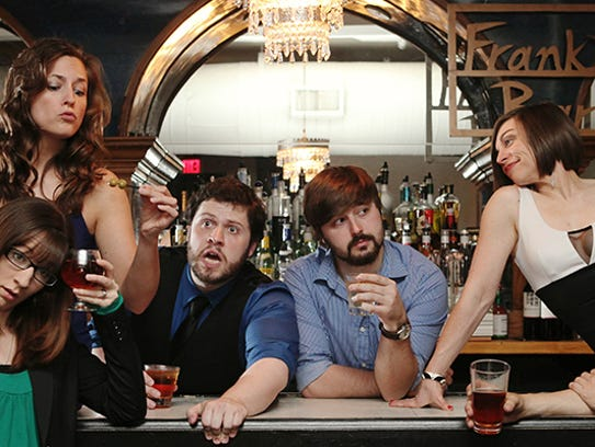 """""""Bye, Bye Liver: The Drinking Play."""""""