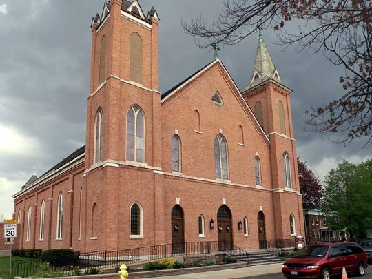 St. Mary's Roman Catholic Church on Franklin Street in Elmira is the only Catholic church on the city's Southside.