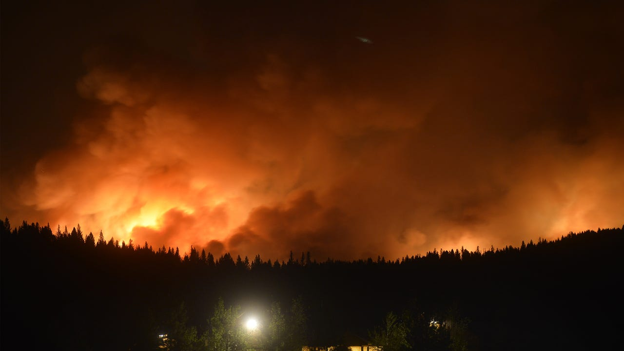 The wildfire northeast of Seeley Lake burned more than 100,000 acres