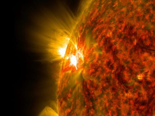 See a stunning solar flare captured by NASA | wtsp com