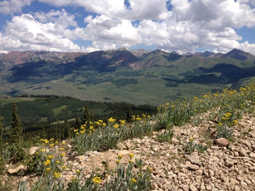 Tracy March loves hiking in the Colorado Rockies. (Photo: Tracy March)