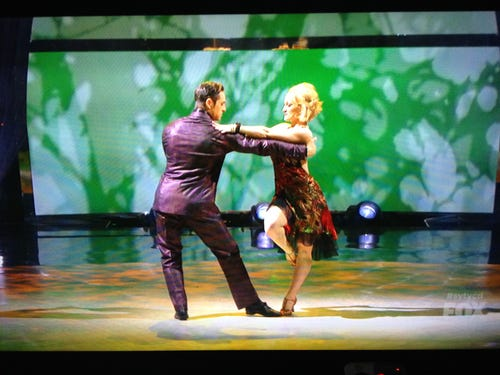 Tanisha and Ryan do the Argentine tango. Yum! (Photo: Fox)