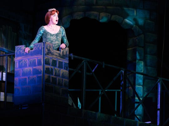 Whitney Winfield plays Princess Fiona in Tuacahn's