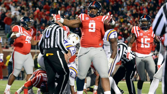 Ole Miss defensive tackle Breeland Speaks and the Rebels' defense performed well after losing to Arkansas.