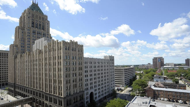 The Albert Kahn-designed Fisher Building in New Center is a National Historic Landmark. It was sold earlier this year, and there are plans to refurbish it.