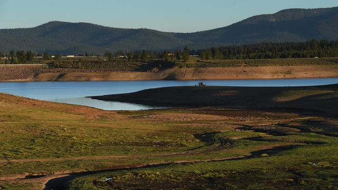 The Prosser Creek Reservoir is seen on May 27, 2015.