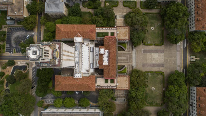 The University of Texas has been mostly empty since March. Before the return to campus in August, UT is asking all students to self-quarantine for 14 days.