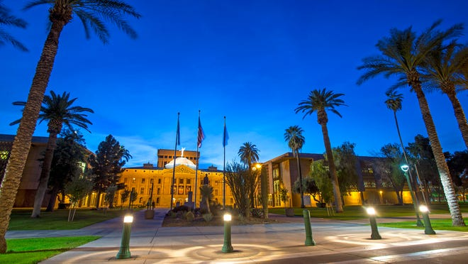 Arizona lawmakers predict a $1 billion budget shortfall, but are spending at least $800,000 on remodeling the state Capitol and its offices in downtown Phoenix.