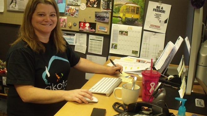Joy Falencik works at Dakota Video & Post as an account producer.