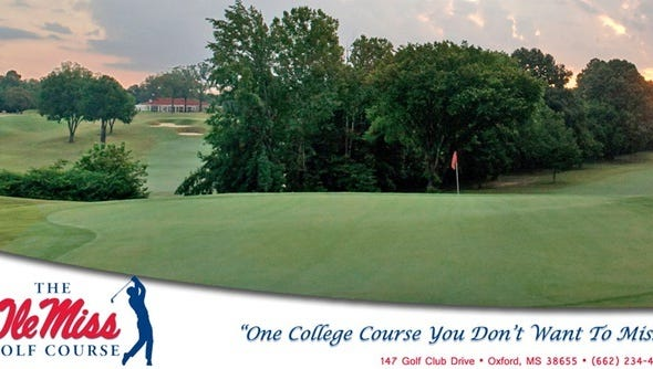 Summer golf at Ole Miss