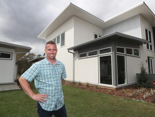 Developer Matt McHaffie will have a home at the Upper East development.