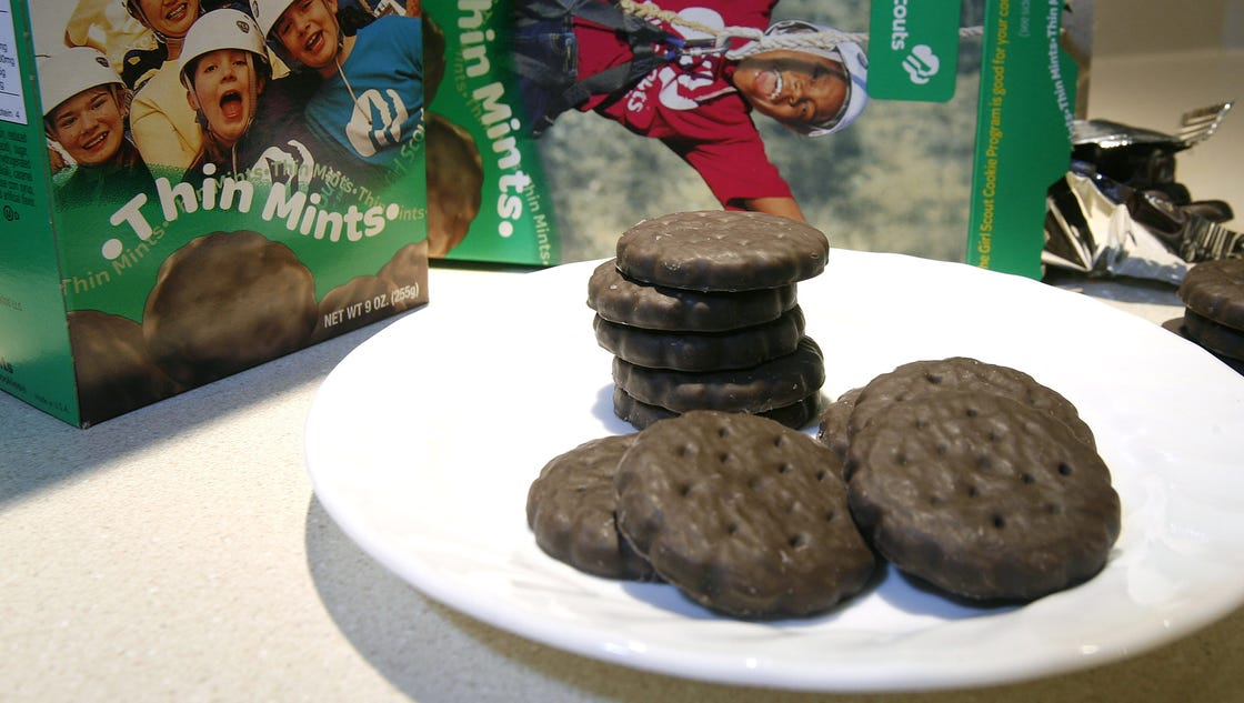 girl scout cookies to see small price increase