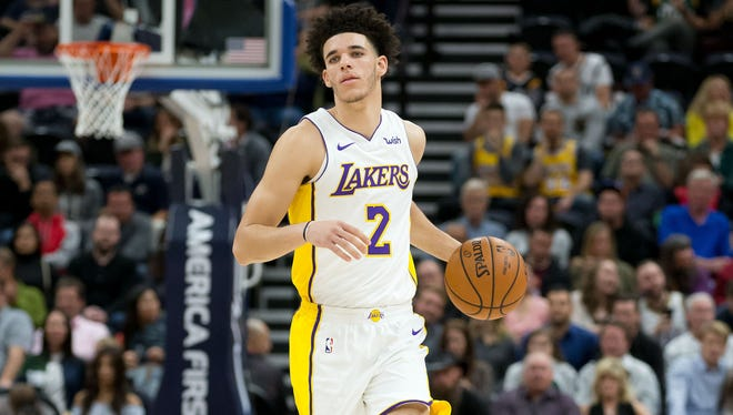 Los Angeles Lakers guard Lonzo Ball says it's his fault the team is losing games.