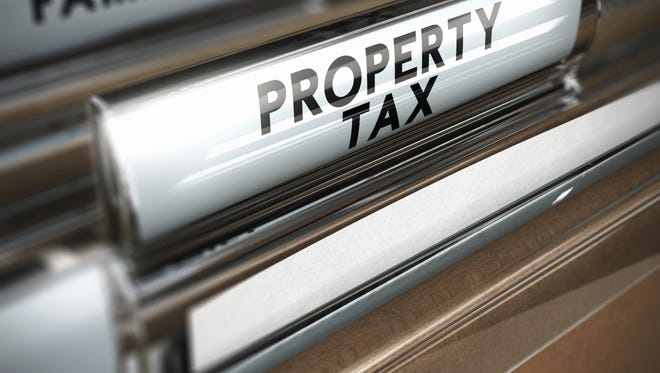 Property tax folder
