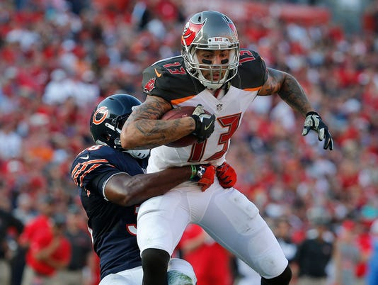 USP NFL: CHICAGO BEARS AT TAMPA BAY BUCCANEERS S FBN USA FL