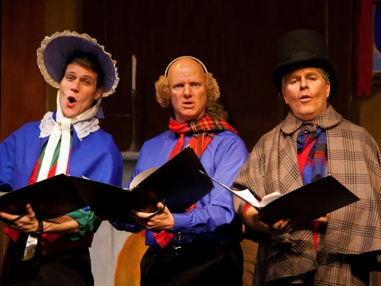 The Reduced Shakespeare Company brings its Christmas show to the Clayton  Center for the Arts on Nov. 30.