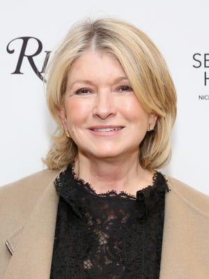 """Martha Stewart attends the Saks Fifth Avenue and Martha Stewart Celebrations of the release of """"The Seaside House: Living On The Water"""" at Saks Fifth Avenue on March 15, 2017, in New York City."""