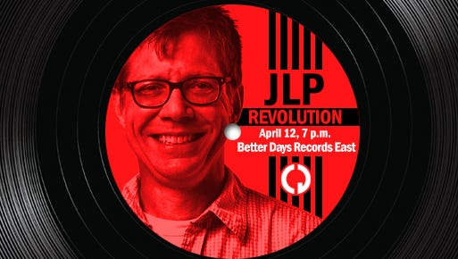 Jeffrey Lee Puckett will help you take care of your turntables at an April 12 clinic. It's free!