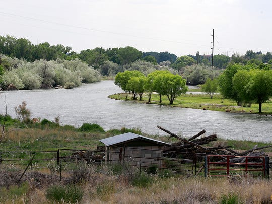 The San Juan River just northeast of the Largo Wash