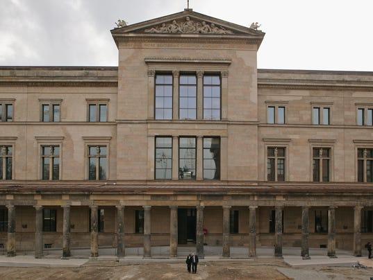 GTY NEUES MUSEUM RENOVATION COMPLETE I HUM DEU