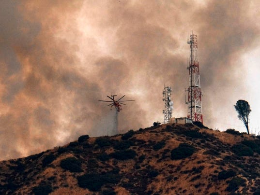 Los Angeles Brush Fire