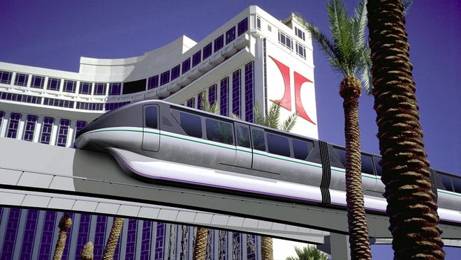 Traveling between Sahara and Tropicana,  the Las Vegas Monorail will drop you off near most Strip hotels. Single rides are only $5 and there's a station conveniently located next to the Convention Center.
