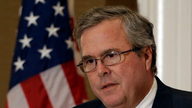 Former Florida governor Jeb Bush is thinking about running for president in 2016.