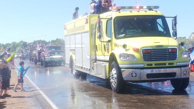 This year's annual Fourth of July Wet 'N Wild parade has been canceled due to the coronavirus pandemic.