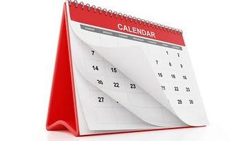 Check out big March, April events calendar
