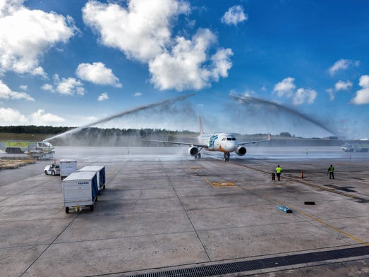 Cebu Pacific Airlines' service between Manila and Guam