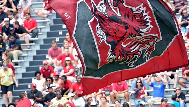 South Carolina freshman center Zack Bailey has been named to the Southeastern Conference Coaches All-Freshman team