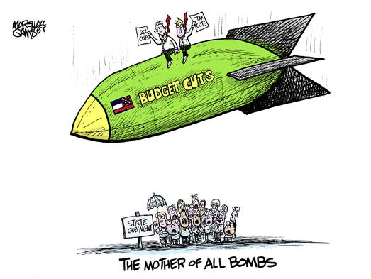 The cartoonist's homepage, clarionledger.com/opinion Marshall Ramsey ...