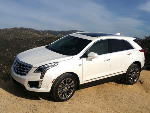 The first-ever 2017 Cadillac XT5 luxury crossover is