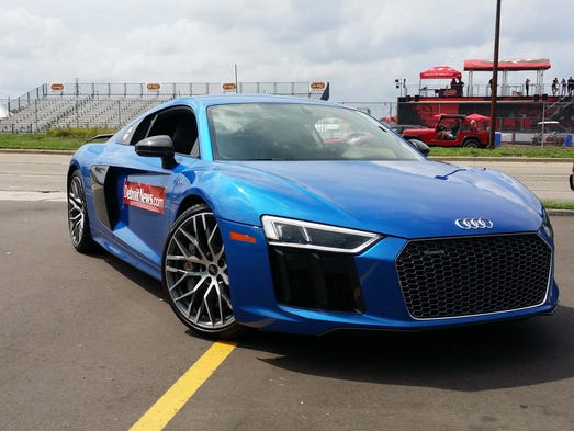 At the Woodward Dream Cruise, the 2017 Audi R8 turned