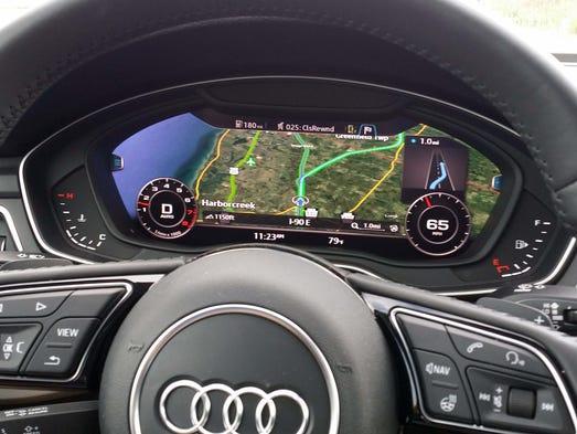 Virtual Cockpit; </div>. Audi debuted its Virtual Cockpit