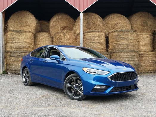 Ford Fusion:  </div>With Aston Martin-like good looks and